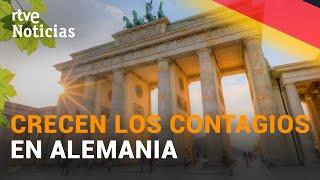 En ALEMANIA la cifra de MUERTOS diarios por covid-19 se mantiene en MÁXIMOS | RTVE Noticias