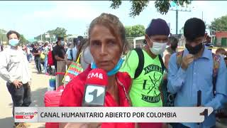 Instalan canal humanitario para que venezolanos puedan regresar a su país