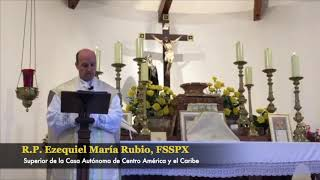 Santa Rosa de Lima | P. Ezequiel María Rubio, FSSPX