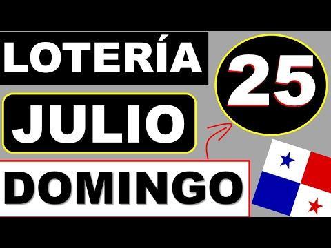 Resultados Sorteo Loteria Domingo 25 de Julio 2021 Loteria Nacional de Panama Dominical Que Jugo