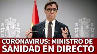 EN DIRECTO | RUEDA DE PRENSA MINISTRO ILLA  | Diario AS