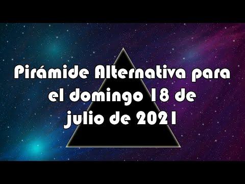 Lotería de Panamá - Pirámide Alternativa para el domingo 18 de julio de 2021
