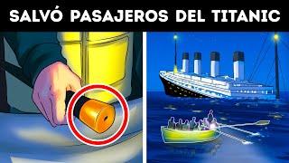Una pasajera del Titanic salvó a 28 personas con su bastón