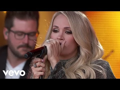 Carrie Underwood - Ghosts On The Stereo (Live From Jimmy Kimmel Live!)