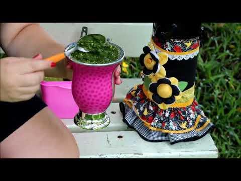 Como curtir a cuia de chimarrão?