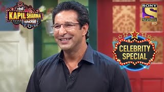 Wasim Akram Talks About Cheerleaders | The Kapil Sharma Show S1 | Shah Rukh Khan | Celebrity Special - SETINDIA