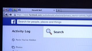 Delete your Facebook search history