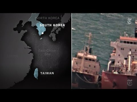 connectYoutube - Smuggling Oil to North Korea on the High Seas | NYT News