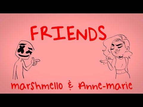 connectYoutube - Marshmello & Anne-Marie - FRIENDS (Lyric Video) *OFFICIAL FRIENDZONE ANTHEM*