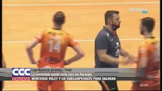 12 Monteros Vóley perdió la final de la liga Nacional con Policial de Formosa