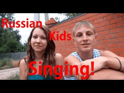 Video: In Russia - Kids are professional singers