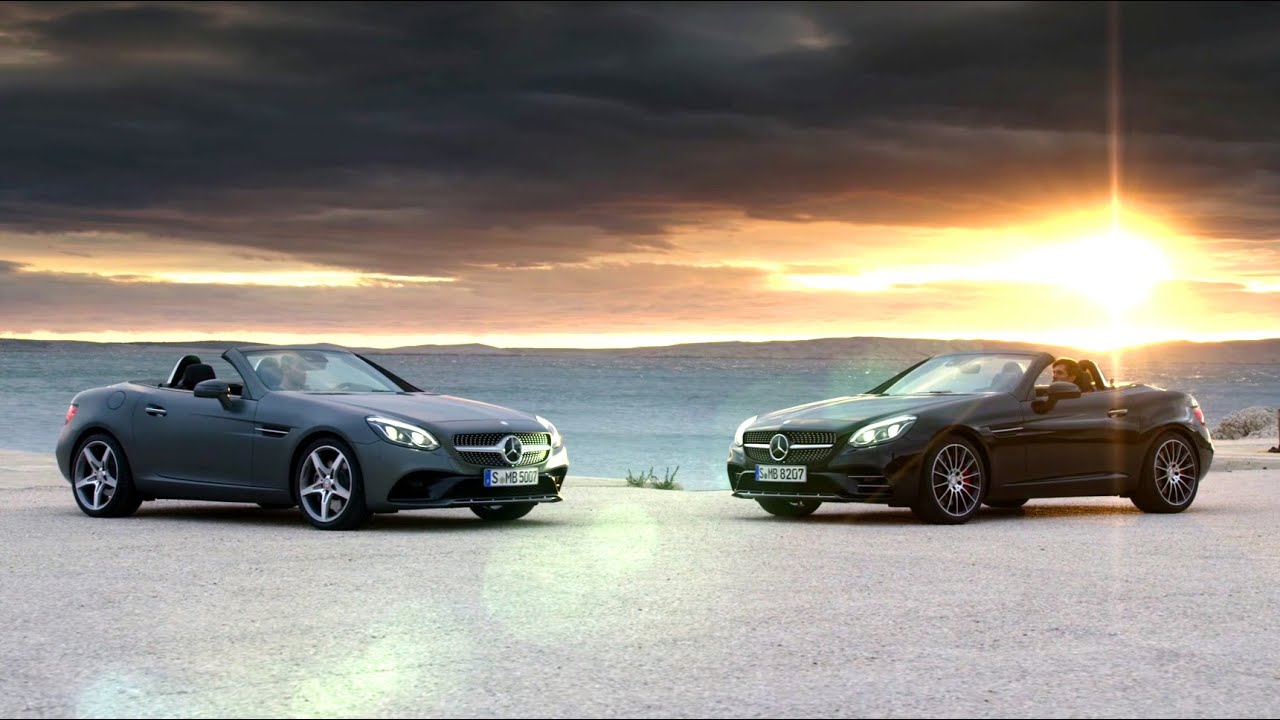 Mercedes-Benz TV: The new SLC  Trailer.