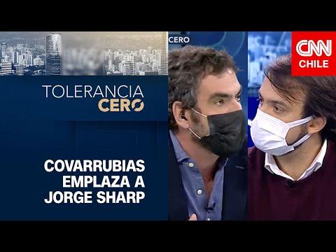 """Covarrubias emplazó a Sharp: """"Hablar contra los políticos es el gran triunfo de Pinochet"""