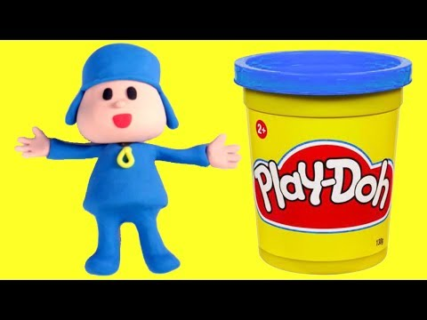 connectYoutube - Pocoyo Stop motion play doh cartoon video for babies