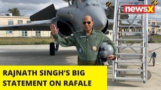 RAJNATH SINGH'S BIG STATEMENT ON RAFALE AMID COVID |NewsX - NEWSXLIVE