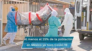 Uno de cada cuatro mexicanos tuvo covid-19 en 2020: Ensanut 2020