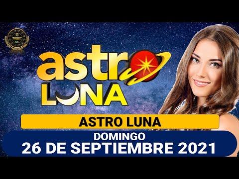 Resultado de ASTRO LUNA del domingo 26 de septiembre de 2021   SUPER ASTRO.