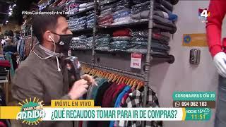 Vamo Arriba - ¿Qué recaudos tomar para ir de compras