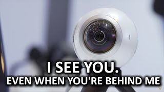 360 camera for the same price as a GoPro!? - Samsung Gear 360, SDC2016