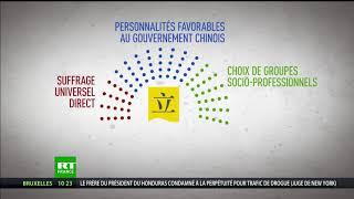 Hong Kong : la Chine approuve la réforme du système électoral pour les législatives