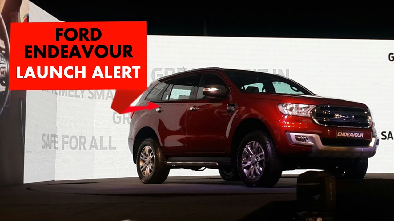 Launch Alert : Ford Endeavour : PowerDrift