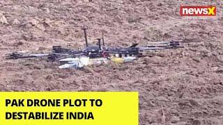 Pak drone plot to destabilize India exposed | NewsX - NEWSXLIVE