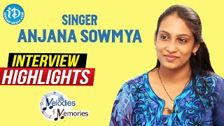 Singer Anjana Sowmya Exclusive Interview Highlights   Melodies And Memories   iDream Movies - IDREAMMOVIES