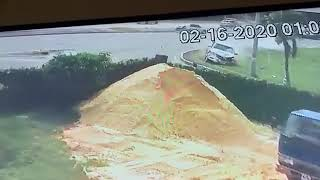 VIDEO FOOTAGE OF TRINCITY ACCIDENT ????????????