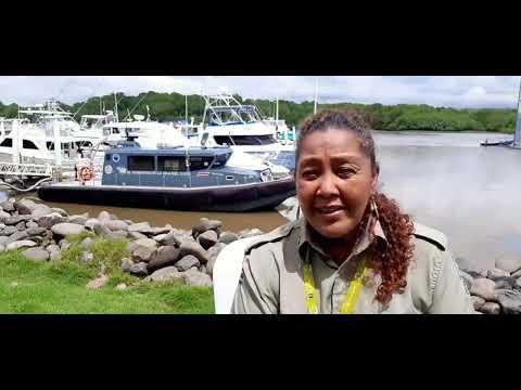 Gina Cuza, directora de ACMC sobre nueva embarcacion para Isla del Coco
