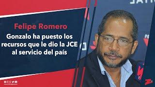 Felipe: Gonzalo ha puesto los recursos que le dio la JCE al servicio del país contra el COVID-19