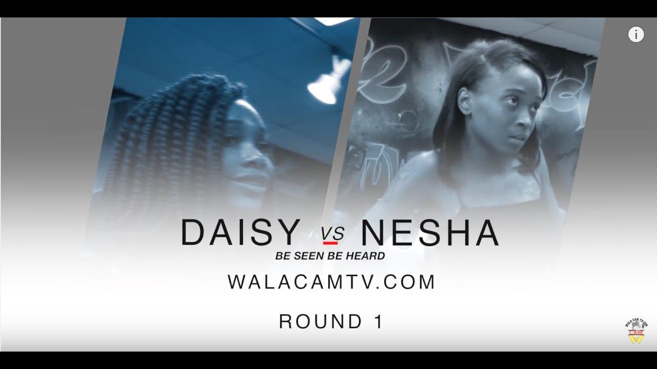 WALACAMTV ITS ON...NEW Hip Roll Battle Daisy vs Nesha RD 1@ FINAL PHAZE /DA WARZONE