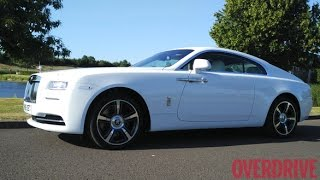 Rolls Royce Wraith - First Drive Review (United Kingdom)