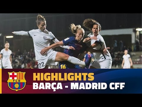 [HIGHLIGHTS] FUTBOL FEM (Liga): FC Barcelona – Madrid (7-0)