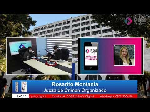 Entrevista- Rosarito Montanía- Jueza de Crimen Organizado