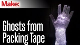 How To Make Packing Tape Ghosts