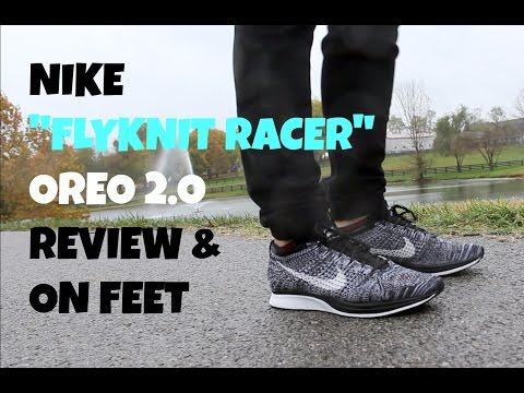 b1bd6654d72d ... Download youtube to mp3  Nike Restock   Oreo Flyknit Racer Review   On  Feet ...