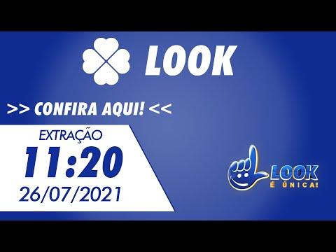 Resultado do Jogo do Bicho Look Goiás 11:20 – Resultado da Look 26/07/2021