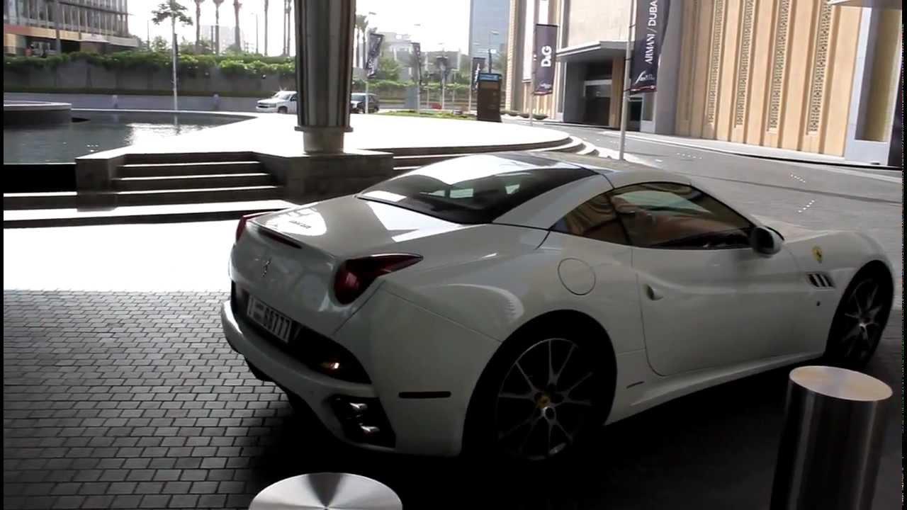 Ferrari California at the 11th Auto Expo