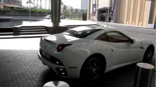 Ferrari California at the 11th Auto Expo