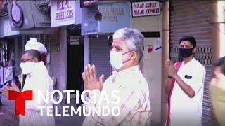 Noticias Telemundo: Coronavirus, un país en alerta, 3 de abril 2020   Noticias Telemundo