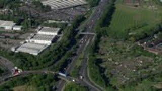 Aerials of UK capital as virus lockdown continues