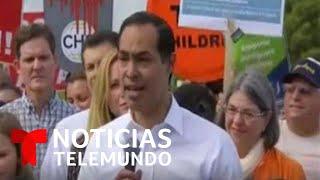 Julián Castro renuncia a la nominación presidencial demócrata   Noticias Telemundo