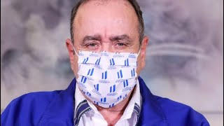 Giammattei se refirió a confinamiento total de Guatemala