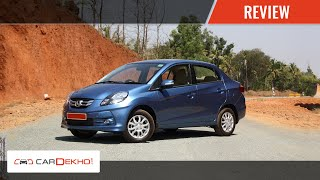 Honda Amaze | Review of Features | CarDekho.com
