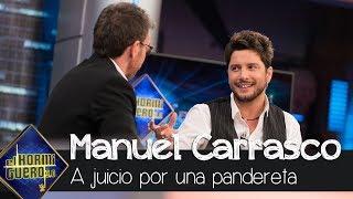 Manuel Carrasco cuenta su anécdota con una pandereta por la que fue a juicio - El Hormiguero 3.0
