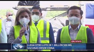 Nuevo lote de vacunas contra coronavirus llega a RD
