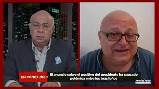El presidente Bolsonaro resultó positivo al COVID-19. ¿Cómo se recibió en Brasil la noticia