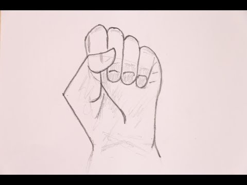 how to draw hand - Very simple Tutorial