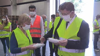 La Generalitat Valenciana dispone de reservas de material sanitario para 6 meses