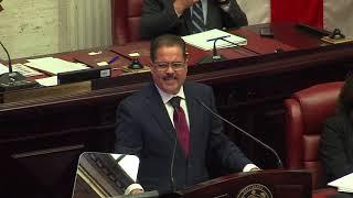 Juramenta José Luis Dalmau como presidente del Senado